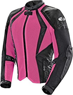 Joe Rocket Cleo Elite Women's Mesh Street Motorcycle Jacket - Pink/Small