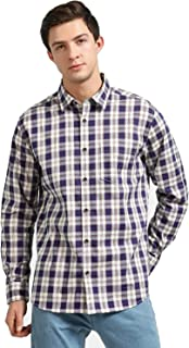 DJ&C By FBB Oxford Checks Relaxed Fit Shirt