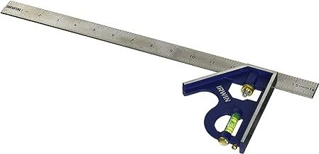 IRWIN Tools Combination Square, Metal-Body, 16-Inch (1794471)