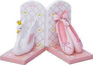 Fantasy Fields TD-12806A Svan sjö Ballerina set flickor rosa balettbokstöd, vit/rosa