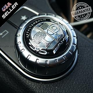 US85 Mercedes-Benz Car AMG Tree Interior Multimedia Control Decal Sticker Badge Decoration Logo