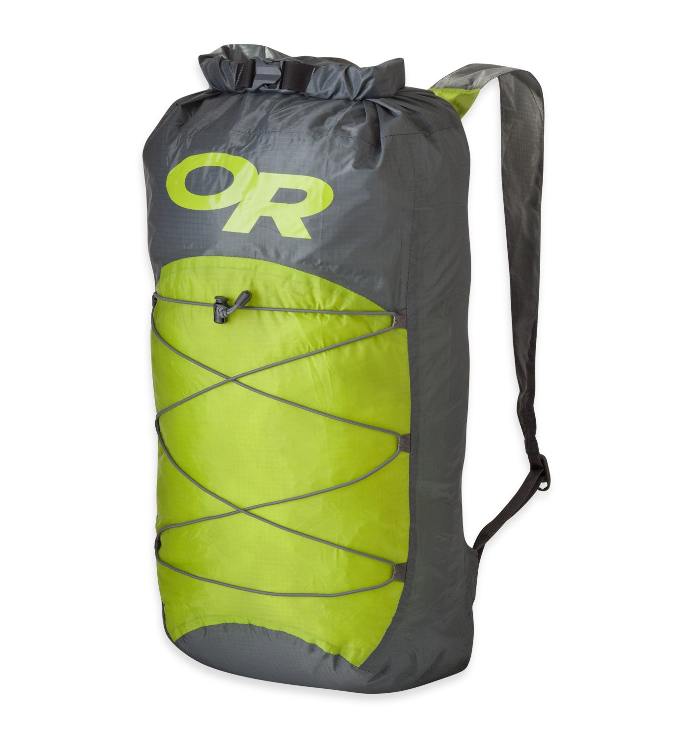 Outdoor Research Unisex Dry Isolation Pack, Pewter/Lemongrass, 1size