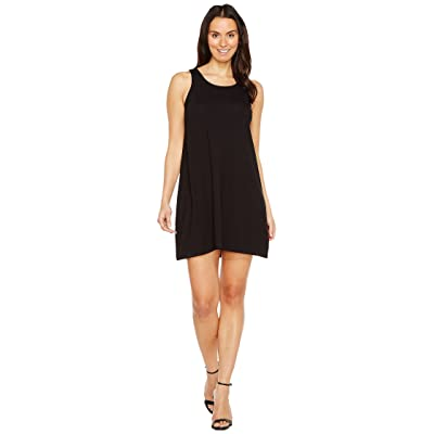 Lilla P Tie Back Dress (Black) Women