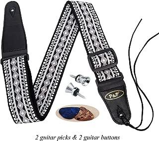 Best jacquard weave guitar strap Reviews
