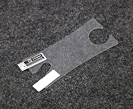5 PCs Protector Film Clear Screen Protector Cover LCD Screen +Clean Cloth for Gameboy Micro GBM (Clear)