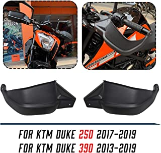 Motorcycle Duke390 250 Handguards Hand Handle Bar Handguard Hand Guards Brush Guard Wind deflector for 2013-2019 KTM Duke ...