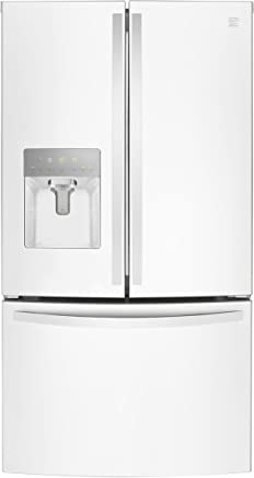 Kenmore 73102 French Door Smart Refrigerator, 27.9 cu. ft. in White-Works