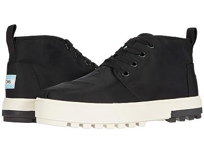 TOMS Botas Lug Sneaker (Black Utility Twill) Women