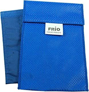 Frio Insulin Cooling Wallets - Water Activated (H-Insulin Pump, Blue)
