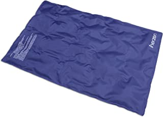 Inerzen Hot and Cold Full Body and Back Reusable Therapy Gel Pad - Relief for Stomach Aches Pain, Tension, Sprains, Cramps, Stress, Swelling (Large - 14