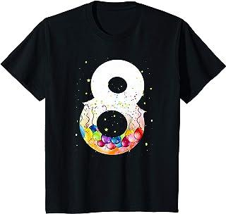 Enfant 8 fille d'un an cadeau drôle shirt 8er garçon d'anniversaire T-Shirt