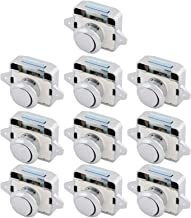 Deurslot 10 stks Zinklegering Push Button Lade Catch Lock Keyless Deurkastklink Knop voor kast/RV/BOOT Duurzaam (Color : M...