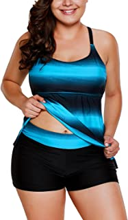 Best women's plus tankini swimsuits Reviews