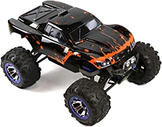 SummitLink Compatible Custom Body Muddy Orange Over Black Replacement for 1/10 Scale RC Car or Truck (Truck not Included) SUSS-BR-02