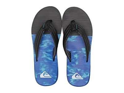 Quiksilver Carver Print (Black/Blue/Grey 2) Men