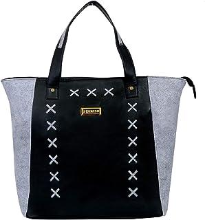 Pinkish Leatherette Handbags For Women's Ladies PK-Daily-013 PK-07 Multi-Coloured