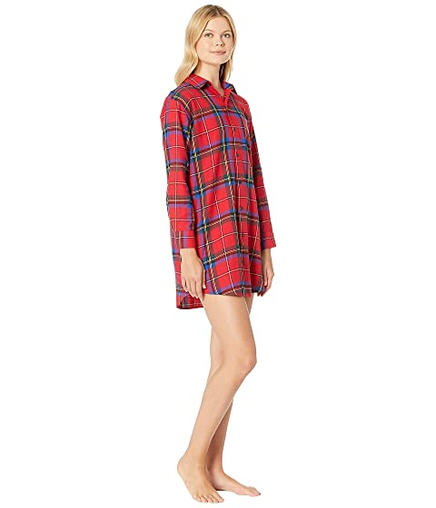 9b362b0fec4 Lauren Ralph Lauren Plus Size Brushed Twill His Shirt Sleepshirt ...