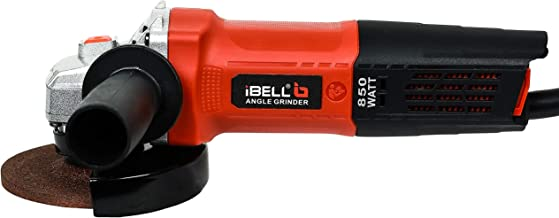iBELL AG10-70, 850W,4-INCH, 11000RPM Angle Grinder W/Back Switch, 1 Grinding Wheel,1 Wheel Guard, 6 Months Warranty