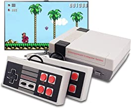 KDRose Classic Handheld Game Console, Built-in 620 Classic Games and 2X 4 NES Classic Button Controller Av Output Video Ga...