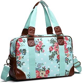 Miss Lulu Canvas Oilcloth Fashion Tote Shoulder Handbag for Women