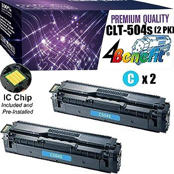 CNY Toner 4 Packs Compatible Samsung CLP-670C Toner