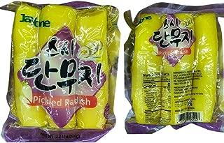 JayOne Korean Takuwan Pickled Radish Danmuji (yellow) 단우지 2.2lb