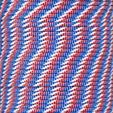 PARACORD PLANET 550 Paracord – for Indoor and Outdoor Use – Outdoor Recreation, Crafting, and Home Improvement Cord (25 Feet, Red White and Blue)