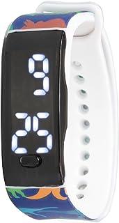Orologio digitale a LED KIDDUS per bambini, ragazze, adulti. Cinturino comodo in morbido silicone. Batteria giapponese lun...