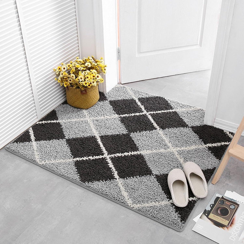 Door mats, Anti-Slip mats Entrance mats Carpets-H 120x120cm(47x47inch)