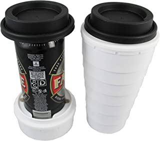 Trinken Lid and Tall Boy Cup Can Cooler for 16oz cans - Hide Your Beverage and Keeps it Cold, Perfect for Outdoors and Events, Hiding from Kids Plus Insulates and Provides Nice Drinking Experience