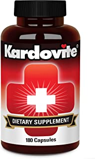 Kardovite 180 Capsules. Supports Circulation & Healthy Cardiovascular Function. Supplement to Maintain Already Normal Bloo...