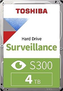 Toshiba HDWT140UZSVA 4TB S300 Surveillance 3.5-inch SATA III Internal Hard Drive