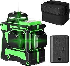 Cuculo Ferramenta de Nível Laser Multifuncional 3D 12 Linhas Linhas Horizontais Verticais com Função de Autonivelamento