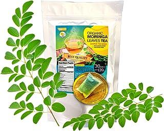 Organic Moringa Leaves Tea Pack of 30 Bags Large Tea Bags