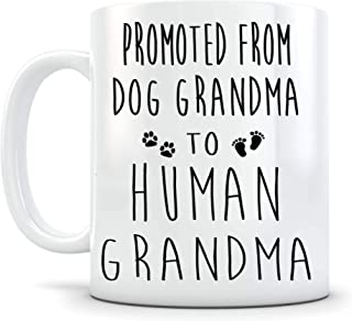 Going to be a Grandma Mug Grandmother Gift Baby Reveal Pregnancy Announcement for New Grandparent Coffee Cup