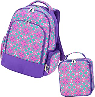 2 Piece Back to School Bundles: Backpack and Lunch Bag