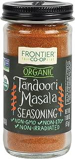 Frontier Organic Seasoning, Tandoori Masala, 1.8 Ounce