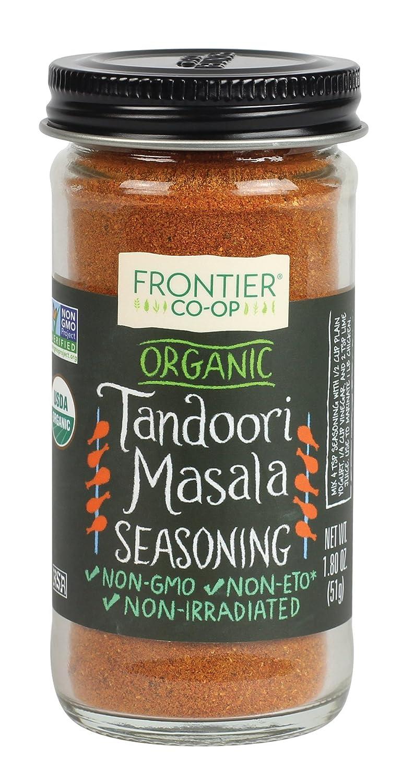 Frontier Organic 2021 autumn and winter new Seasoning Tandoori OFFer Masala Ounce 1.8