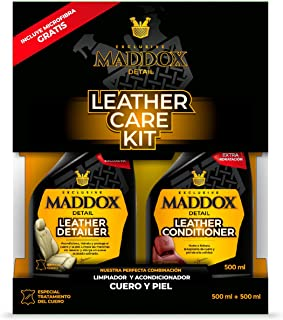 Maddox Detail - Leather Care Kit - Limpiador y