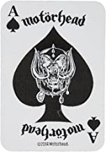 Motorhead Ace of Spades Card Patch Heavy Metal Music Band Woven Sew On Applique