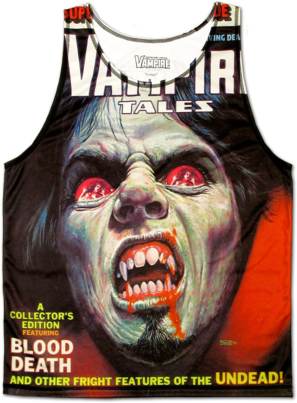 Vampire Tales Demon Eyes Horror T-Shirt Undead Tan Dracula Sale price Max 65% OFF Scary