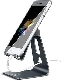 Lomicall スマホ スタンド ホルダー 角度調整可能, 携帯電話卓上スタンド : 充電スタンド, アイフォンデスク置き台, aluminium, Nintendo Switch 対応, アイフォン, アンドロイド, iPhone 11, 11 Pro , 11 Pro Max, 11 プロ マックス XS XS Max XR X 8 plus 7 7plus 6 6s 6plus 5 5s, huawei p20 p30 lite, Sony Xperia, Nexus, androidに対応