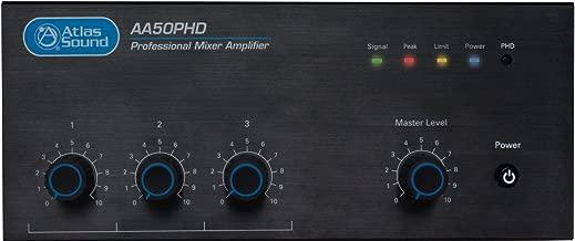 Atlas Sound 50W 3 Input Mixer Amplifier