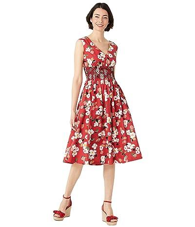 Kate Spade New York Botanical Garden Poplin Dress