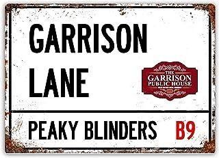 Peaky Blinders Birmingham Whiskey Affiche /Étain M/étal Mur Signe Vintage Plaque R/étro Attention D/écorative M/étallique Panneau pour Caf/é Bar Chambre H/ôtels Clubs Parc