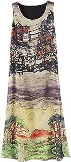 Letuwj Women's One Line Slim Fit Dress