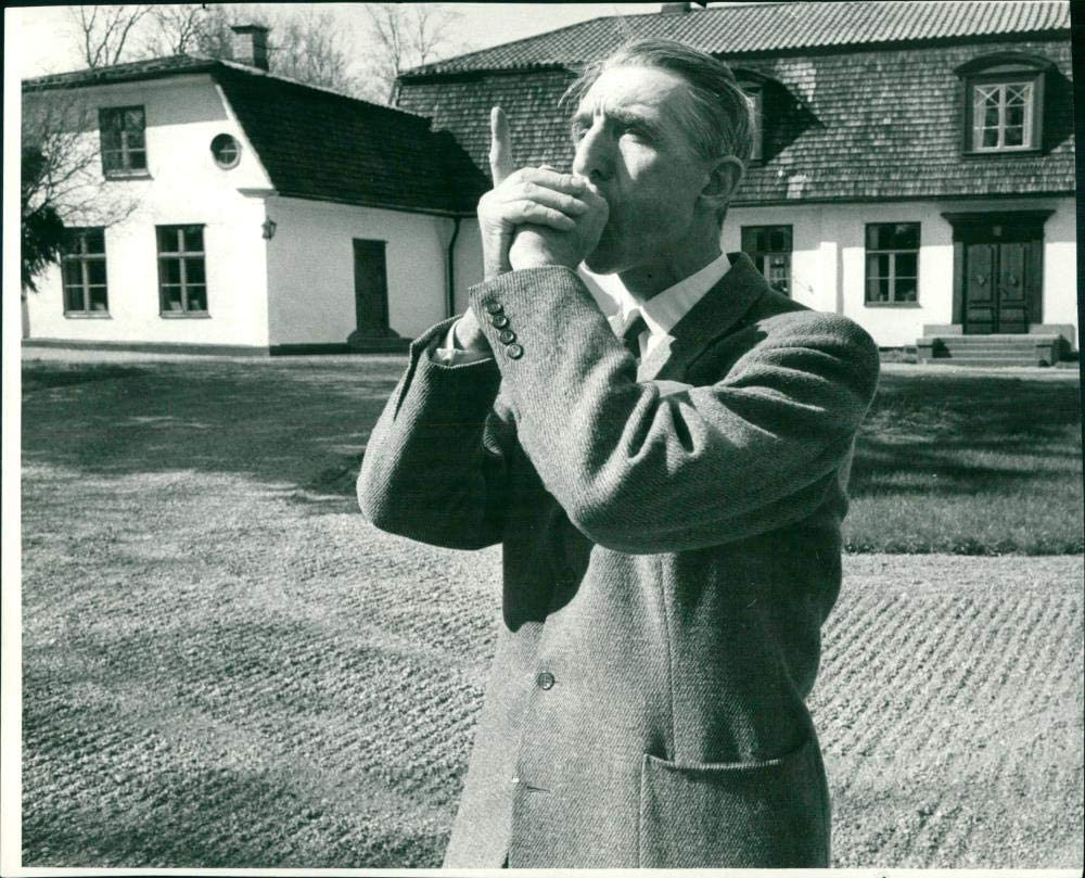 Max 45% OFF Manufacturer regenerated product Vintage photo of Lagercrantz. Carl