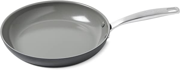 GreenPan Chatham 12 Ceramic Non Stick Open Frypan Grey