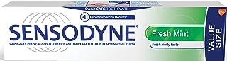 Sensodyne Daily Sensitivity Toothpaste for Sensitive Teeth Fresh, Mint VALUE size 135ml