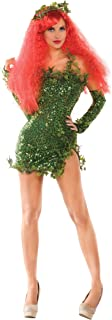 Women's Poisonous Villain Sexy Cosplay Costume Dress Set